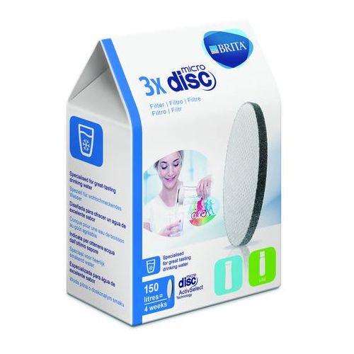 Filtry BRITA MicroDisc 3szt Dysk Fill & Go - odbiór w 2000 punktach - Salony, Paczkomaty, Stacje Orlen