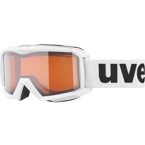 Uvex gogle narciarskie flizz lg white s2 (4043197304885)