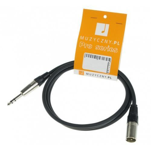mic 2m przewód symetryczny xlrm trs marki 4audio