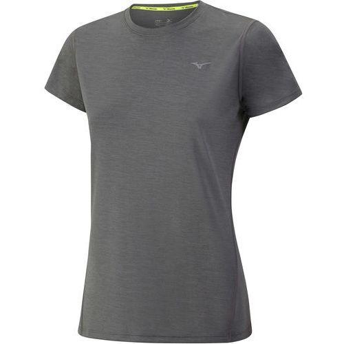 koszulka treningowa impulse core tee w/castlerock melange m marki Mizuno