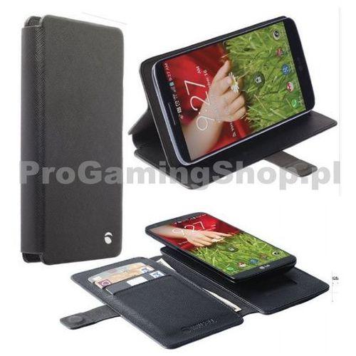 Etui Krusell Malmo FlipWallet Slide do Alcatel One Touch Hero - 8020D, Czarny z kategorii Futerały i pokrowce do telefonów