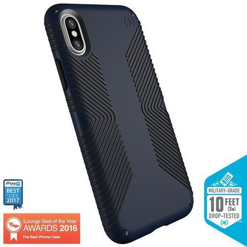 presidio grip etui obudowa iphone x (eclipse blue/carbon black) marki Speck