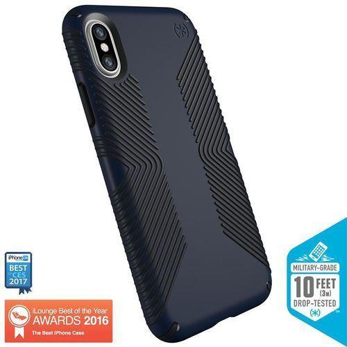 Speck presidio grip etui obudowa iphone x (eclipse blue/carbon black)