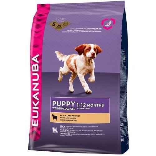 Eukanuba  puppy&junior lamb&rice all breeds 12kg - 12000 (8710974912262)