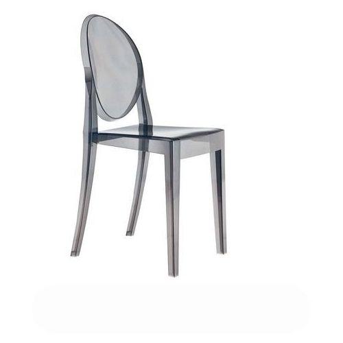 Krzesło VICTORIA dymiony - poliwęglan