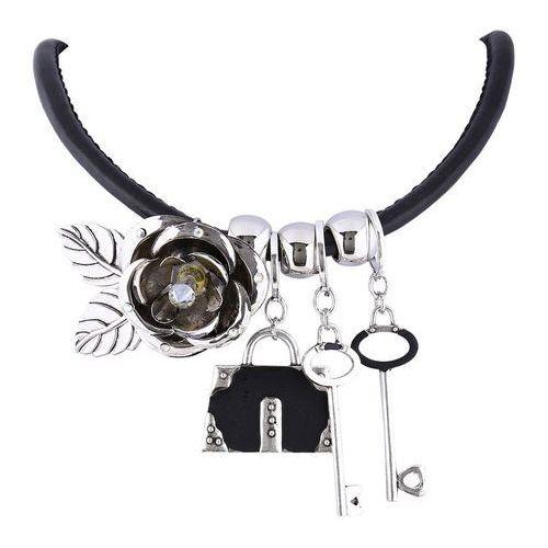 Naszyjnik na kłódkę srebrny - srebrny marki Cloe