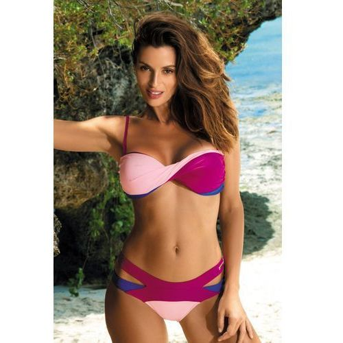 Kostium Kąpielowy Model Olimpia Magenta-Dafne-Baltimorai M-438 Fuksja/Light Pink