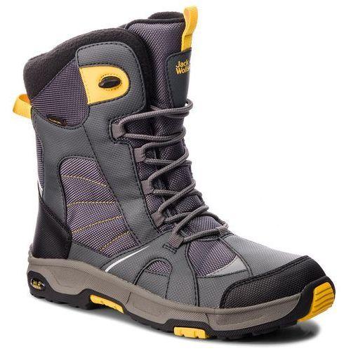 Jack wolfskin Śniegowce - boys snow ride texapore 4012042 burly yellow xt d