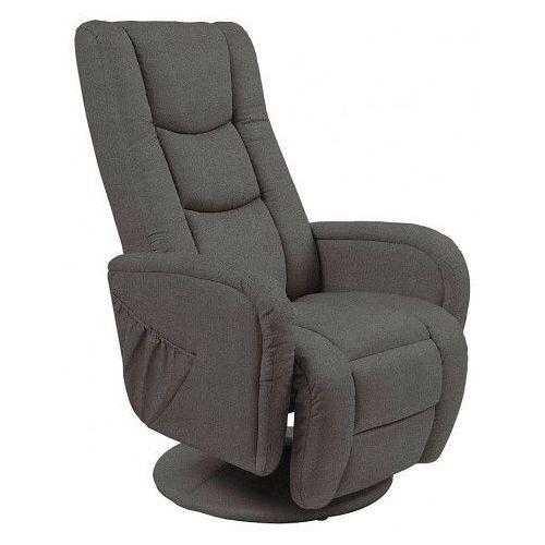 Fotel masujący Litos 2X - popielaty, kolor szary