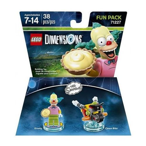 LEGO DIMENSIONS - SIMPSONS FUN PACK 71227 - KRUSTY, 9208-28216