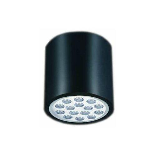 Spot LAMPA sufitowa Neo cromo nero Orlicki Design okrągła OPRAWA metalowa tuba downlight czarny chrom (1000000601756)