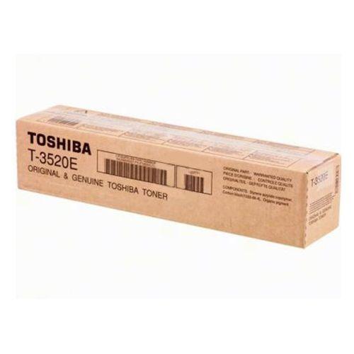 Toner t-3520e czarny do kopiarek (oryginalny) [21k] marki Toshiba