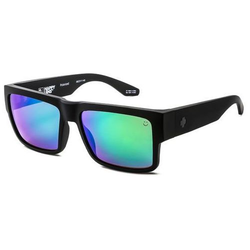 Okulary słoneczne cyrus polarized matte black-happy bronze polar w/green spectra marki Spy