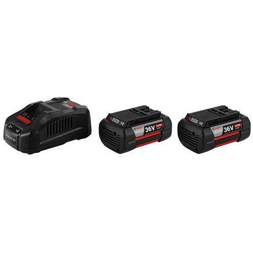 Akumulator bosch 2 x gba 36v 6,0ah + ładowarka gal 3680 cv + darmowy transport! marki Bosch_elektonarzedzia