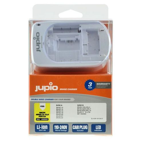 Jupio BrandCharger do akumulatorów Nikon (8717825942485)