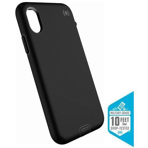 SPECK PRESIDIO SPORT ETUI OBUDOWA IPHONE X (BLACK/GUNMETAL GREY), kolor czarny