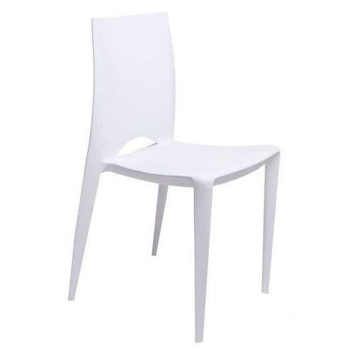 Krzesło Bee inspirowane Bellini Chair - biały (5902385713467)