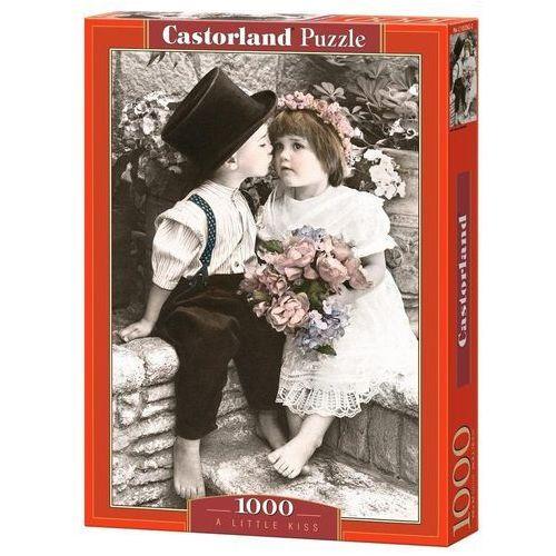 , puzzle skromny pocałunek marki Castorland