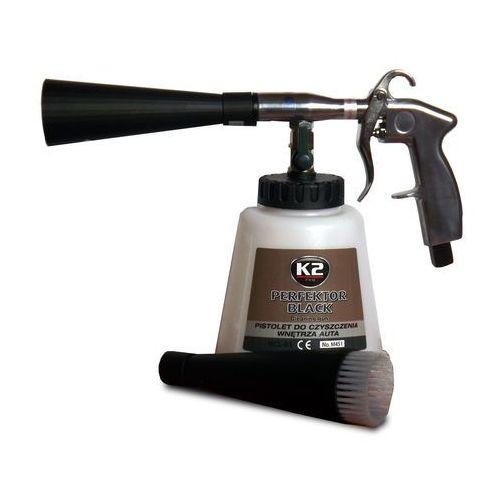 Perfektor black pistolet do czyszczenia wnętrza auta, mechanizm oparty na łożysk - szt marki K2