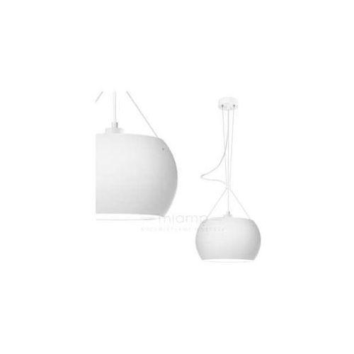 LAMPA wisząca MOMO 1/S/OPAL MATTE Sotto Luce szklana OPRAWA nowoczesna ZWIS okrągły biały matowy