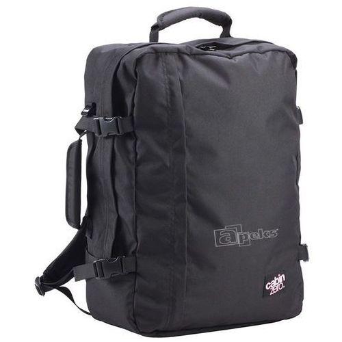 classic 44l torba podróżna podręczna / kabinowa / plecak / czarny - absolute black marki Cabinzero