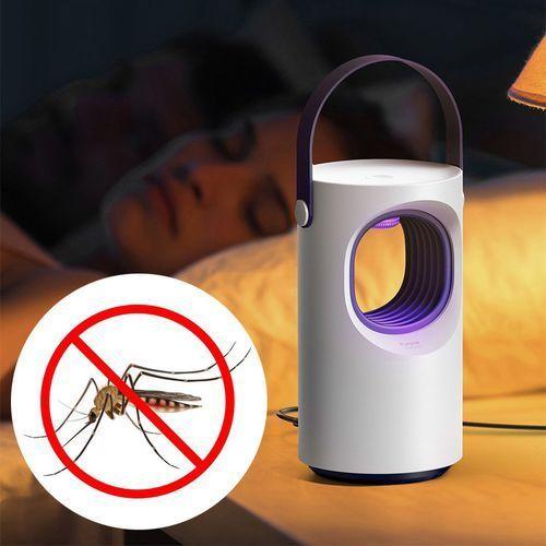 mosquito killing lamp lampa owadobójcza uv na owady komary muchy biała (acmwd-zx02) marki Baseus