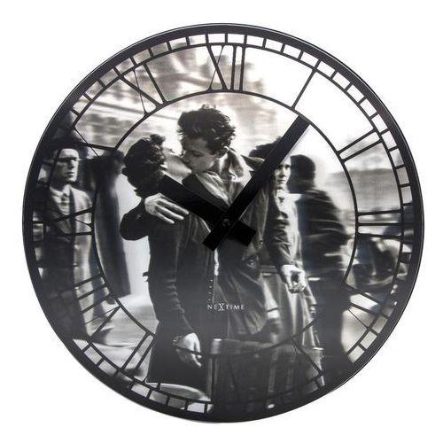 Zegar ścienny kiss me paris marki Nextime