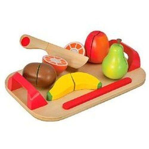 Deska z owocami drewniana