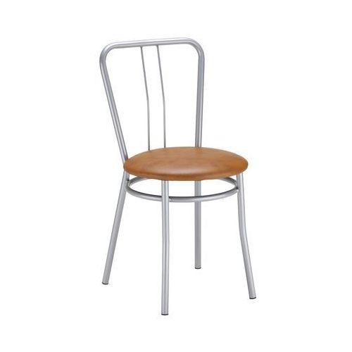 Nowy styl Krzesło kuchenne kolor brąz alba alu (5903038197573)