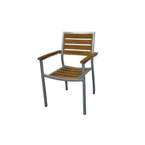 Bolero Krzesło sztaplowane | 560x520x(h)860mm | 4szt.