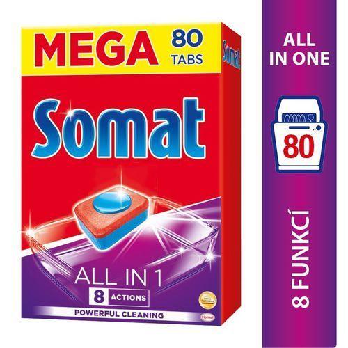 Somat all in 1 tabletki do mycia naczyń w zmywarkach 1440 g (80 sztuk) (9000101348019)