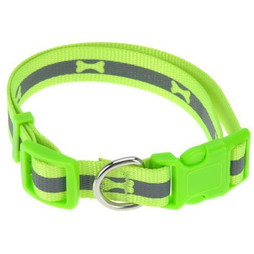 Obroża dla psa neon zielony, rozm. m, m marki 4home