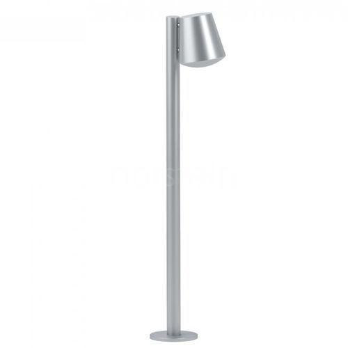 Eglo caldiero 97454 lampa stojąca zewnętrzna ip44 1x10w e27 srebrny/biały (9002759974541)