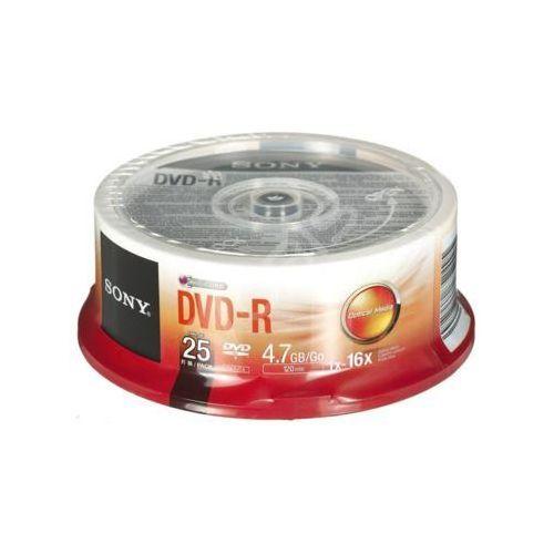 Sony Dvd-r 25dmr47sp 4,7gb 16x 25szt. cake