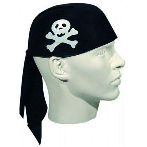 Czapka pirat z chustą - przebranie dla dzieci i dorosłych