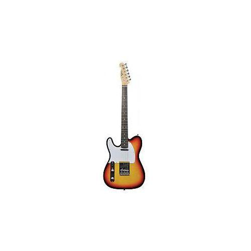cal62/lh guitar 3 tone burst, gitara elektryczna leworęczna marki Chord