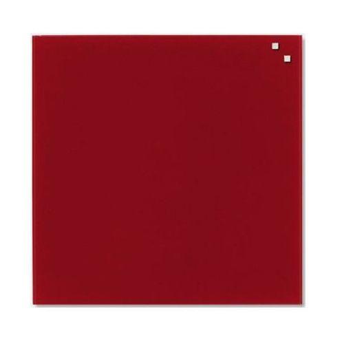 Naga Szklana tablica magnetyczna bordowa 45x45 marki