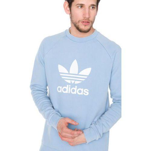 Adidas originals trefoil crew bluza niebieski xl