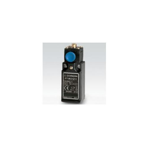 Krótki popychacz ze stalową końcówką, z resetem 2NC wolno przełączające FT1R31W02