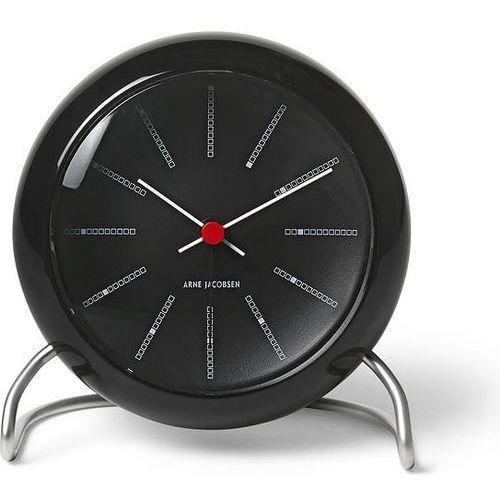 Rosendahl Zegar stołowy arne jacobsen czarny (5709513436805)