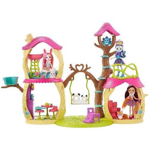 Enchantimals zestaw lesny domek fnm92 wb2 marki Mattel