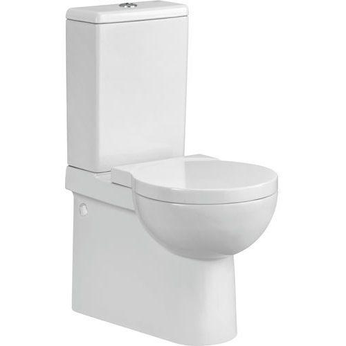 Cersanit nano kompakt wc, deska twarda k19-012