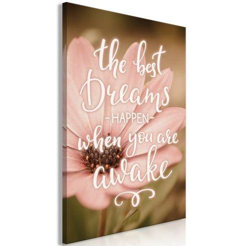 Artgeist Obraz - the best dreams happen when you are awake (1-częściowy) pionowy