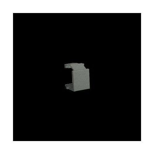 Zaślepka otworu wtyku RJ45/RJ12 do pokrywy gniazda teleinformatycznego; grafitowy