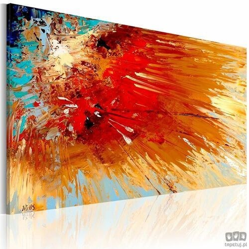 Obraz ręcznie malowany – eksplozja marki Artgeist