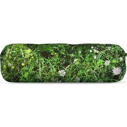 Foonka Poduszka wałek alpejska łąka 50 x 15 cm z wypełnieniem z łusek gryki