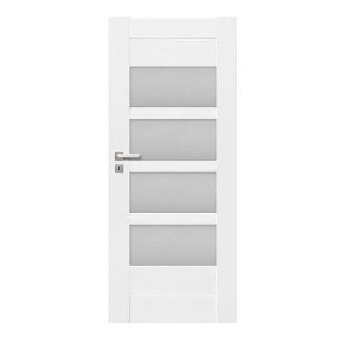 Drzwi pokojowe Ombra 90 prawe kredowo-białe