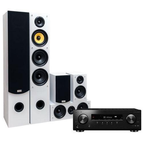 Pioneer Kino domowe vsx-534b + taga tav-506 v.2 biały (2905079700944)