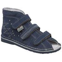 Danielki Kapcie profilaktyczne buty t105 t115 jeans - jeans ||granatowy