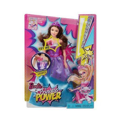 Mattel Barbie super księżniczki superbohaterka światła i dźwięki cdy62